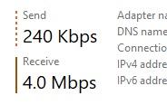 マイIPからネットフリックスに接続時の速度